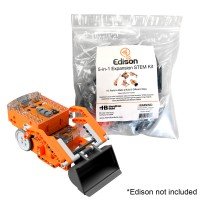 EDIBOT 5-in-1 Expansion Kit - Tank, Digger, Robo Claw, Crane and Printer