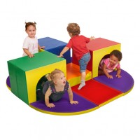 Softzone® Triple Tunnel Maze - ECR4KIDS - ELR-12656