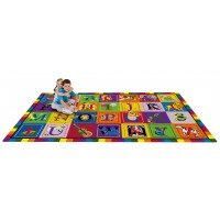 ABC Blocks Educational Rug