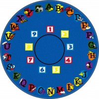 Super Circle Educational Rug