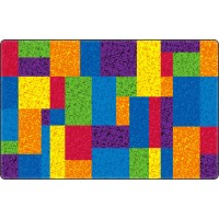 Terrific Squares Educational Rug