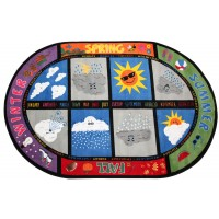 Weather Today Educational Rug