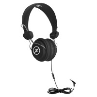 TRRS Headset with In-Line Microphone - HamiltonBuhl Favoritz - Black