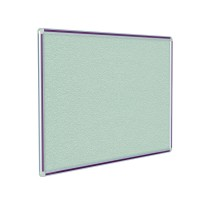 DecoAurora Aluminum Frame Gray Vinyl Tackboards and Colored Frames by Ghent
