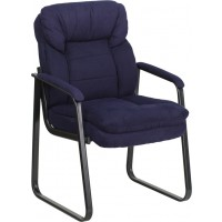 Executive Side Chair with Sled Base - 4 Seat Options