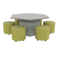 Soft seating shown sold separately
