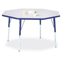"Jonti-Craft Berries® 48"" x 48"" Octagon Activity Table - Select Height and Color"