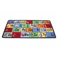 Learn the Alphabet play rug LC122