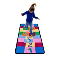 Hopscotch play rug LC140