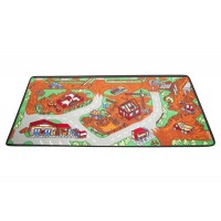 Construction Zone play rug LC166
