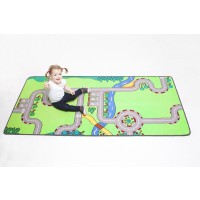 Building blocks play rug LC168