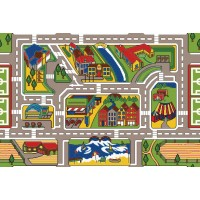 Town and Country play rug LC189