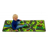 Child on Playful Road play rug lc967