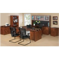 Ascent Office Suite Ensemble in Cherry - Choose Components