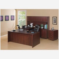 Essentials Office Suite Ensemble in Mahogany - Choose Components