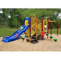 UPlayToday UPLAY-006-P Maddie's Chase Play Structure for Ages 5-12