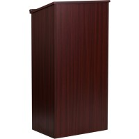 Mahogany Stand-Up Lectern