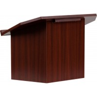 Foldable Mahogany Tabletop Lectern