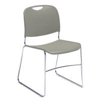 NPS 8500 Series Hi Tech Ultra Compact Plastic Stack Chairs - Four Colors