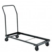 NPS 4-Wheel Dolly/Cart for use with NPS 1100 Series Folding Chairs - Holds up to 26 Chairs - DY-1100