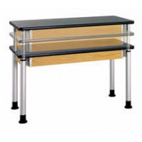 "Adjustable Height Table, 60""W x 27""H x 30""D - 2 Top Types"