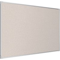 Best-Rite Pebbles Vinyl Tackboard - Silver Ultra Trim - Select Size and Vinyl Color