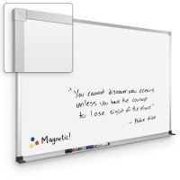 Best-Rite Porcelain Markerboard - ABC Trim - Multiple Sizes with or without Maprail