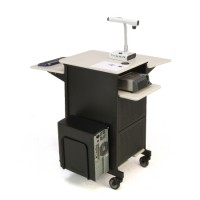 Jumbo Plus Presentation Cart - PRC450 by Oklahoma Sound