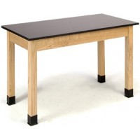 Chemical and Heat Resistant Phenolic Science Lab Tables - National Public Seating PSLT Series