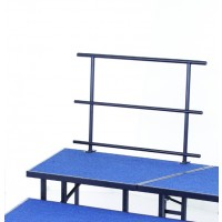 AmTab Stage Guard Rails with Chair Stop - Three Sizes
