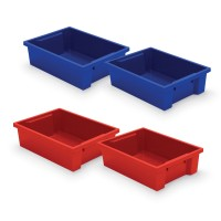 Best-Rite Plastic Storage Tubs - 2 Colors