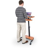 MooreCo 90459 Up-Rite Workstation Height Adjustable Sit/Stand Desk