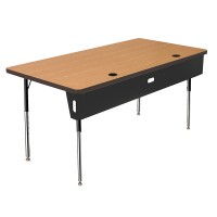 Allied Economy 4-Leg Computer Tables - W5 Series