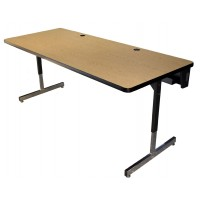Allied Economy T-Leg Computer Tables - W5 Series
