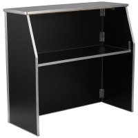 4'W Portable Reception Counter - 4 Colors Available