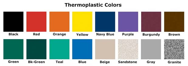 outdoor bench colors